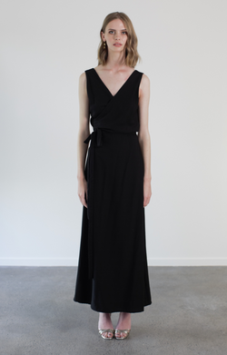 KATHERINE GOWN - BLACK
