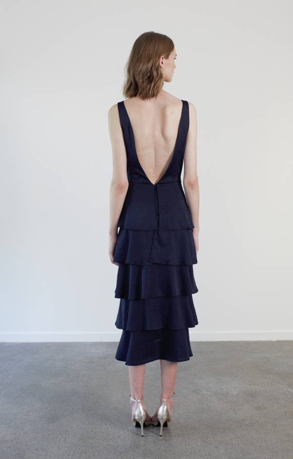 HONOR DRESS - NAVY