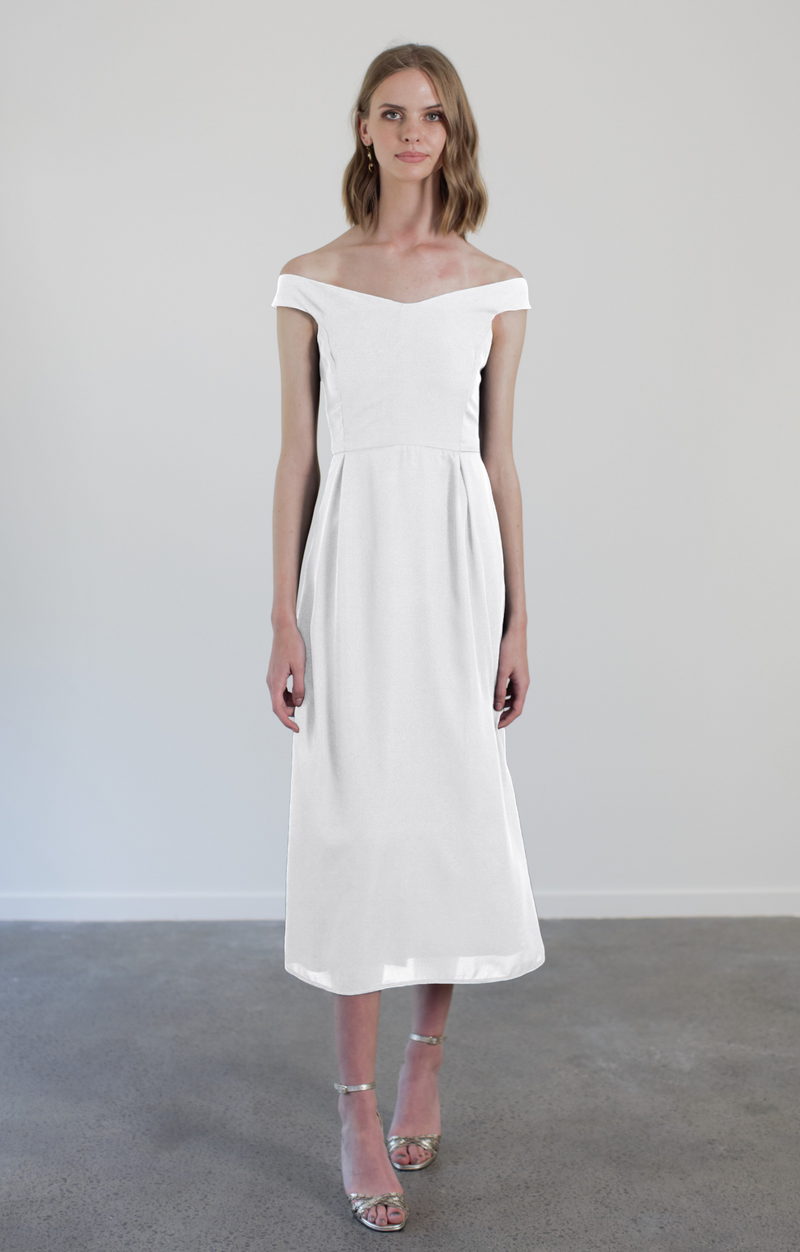 ROSIE DRESS - WHITE