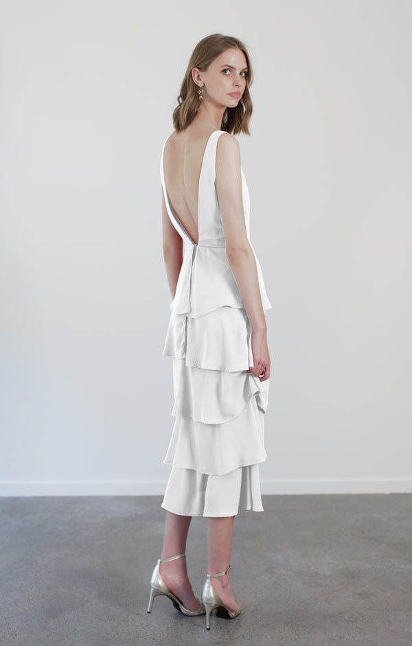 HONOR DRESS - WHITE