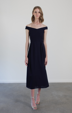 ROSIE DRESS - NAVY