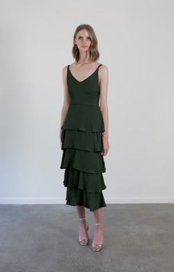 TILLY DRESS - OLIVE