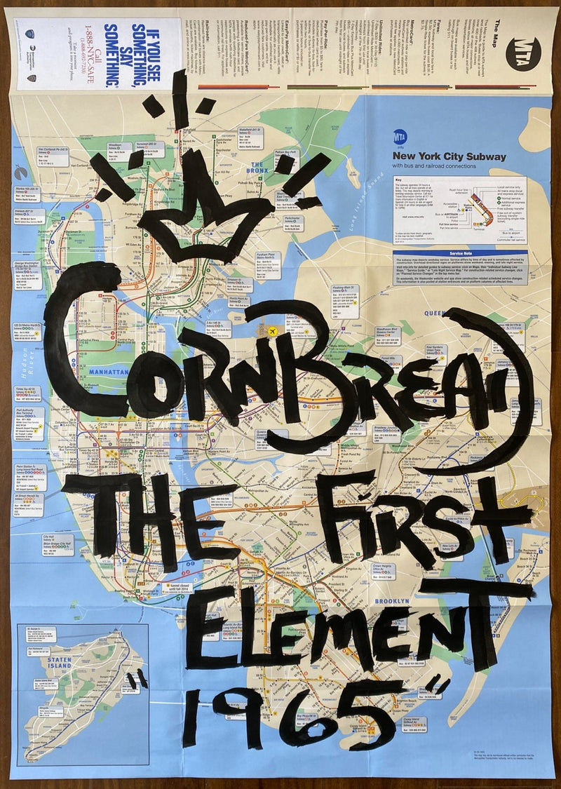 Cornbread the First Element 1965 Map