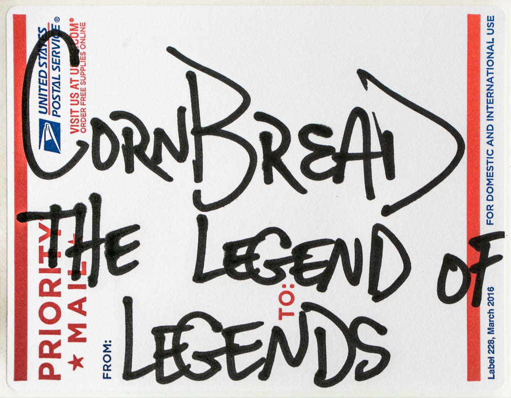 Postal Label Series: The Legend of Legends