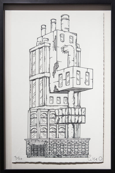 Trapdoor Tower - Framed