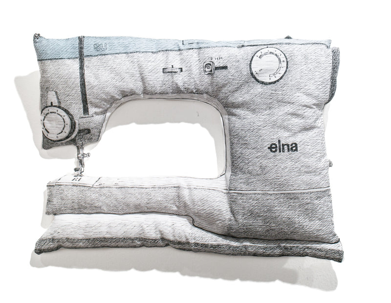 White Elna Sewing Machine