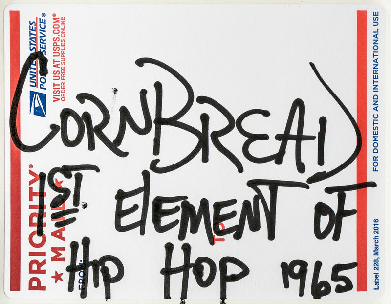 Postal Label Series: 1st Element of Hip Hop 1965
