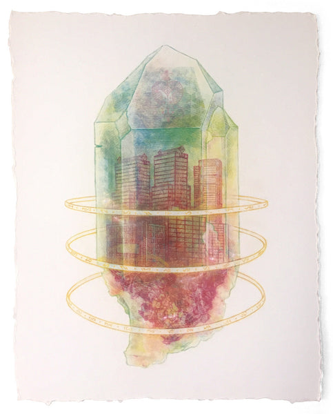 Crystal Shard I (unframed)