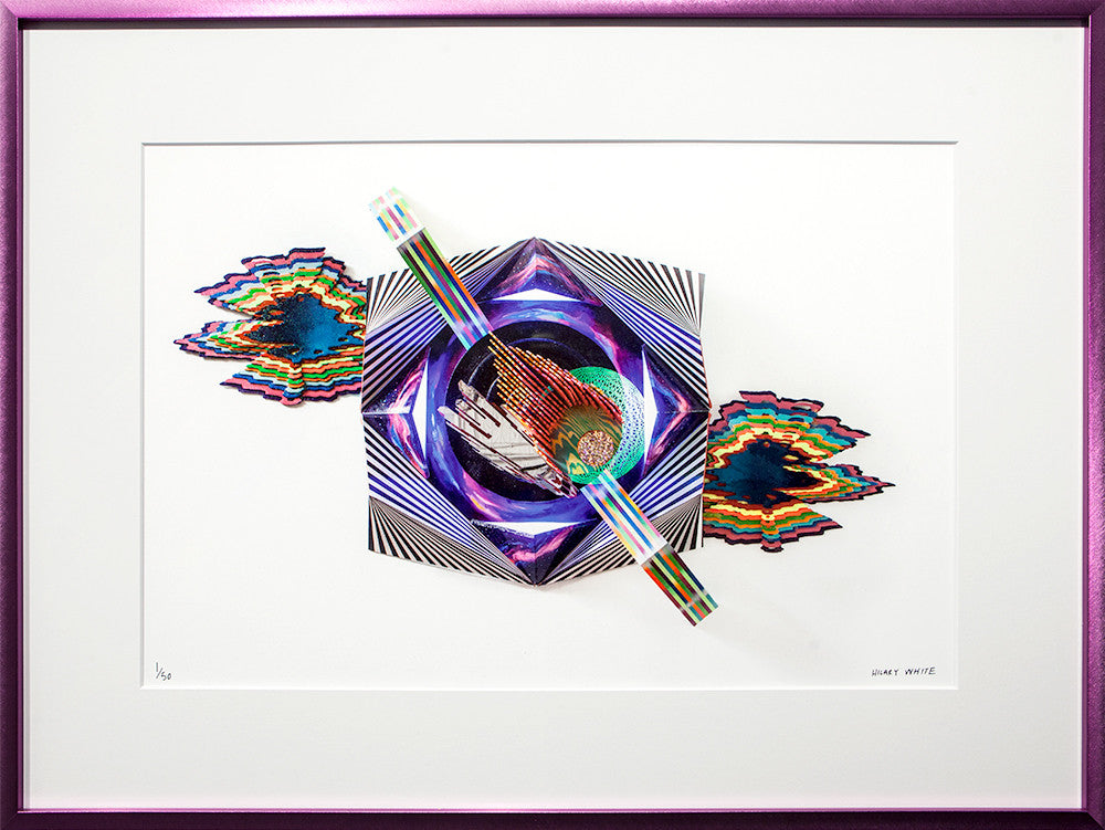 Omega Point - Framed Giclée Print