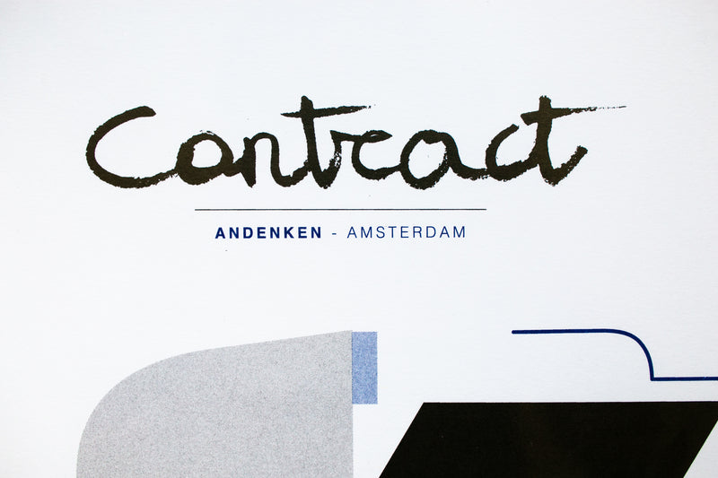 """Contract Print Set"" Cover"