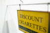 Discount Cigarettes Sign