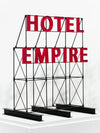 Hotel Empire Sign