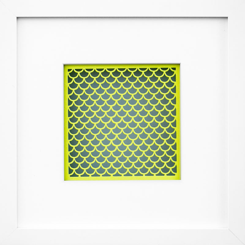 "Illusionary Paper Series ""Frosted Lemon"" II"