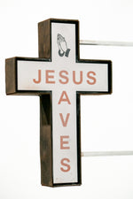 Jesus Saves (red)