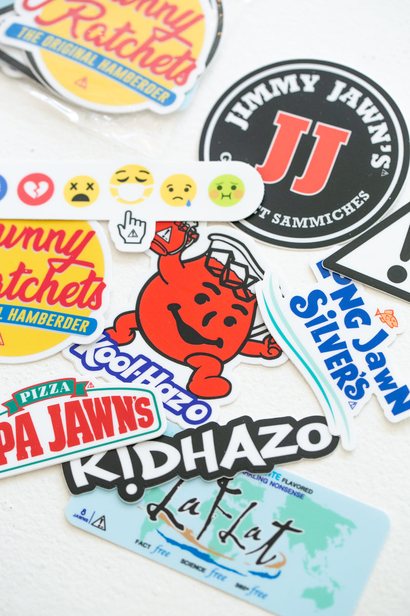 Kid Hazo Sticker Set