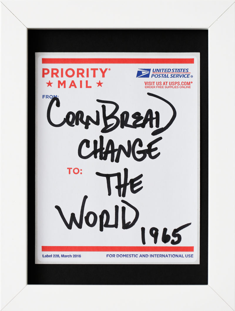Postal Label Series: Change the World 1965