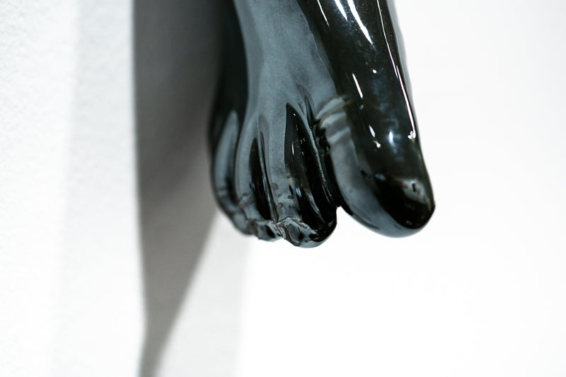 The Long Arm Reaches Out: Hands and Feet Series Chrome 5