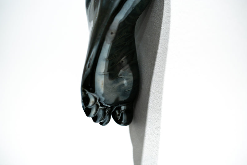 The Long Arm Reaches Out: Hands and Feet Series Chrome 6