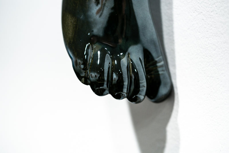 The Long Arm Reaches Out: Hands and Feet Series Chrome 7