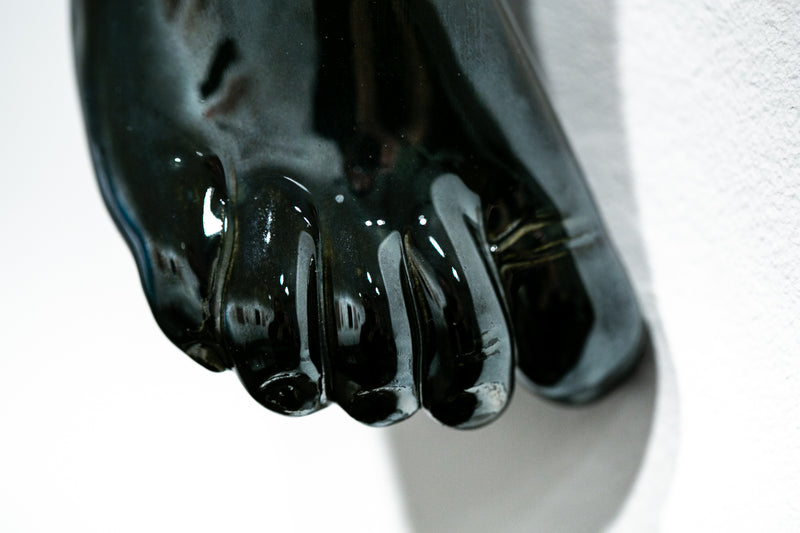 The Long Arm Reaches Out: Hands and Feet Series Chrome 9