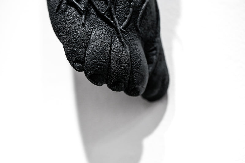 The Long Arm Reaches Out: Hands and Feet Series Matte Black 1