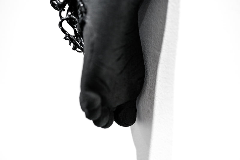 The Long Arm Reaches Out: Hands and Feet Series Matte Black 2