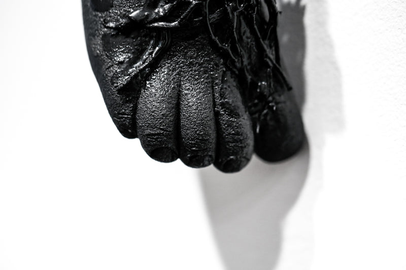 The Long Arm Reaches Out: Hands and Feet Series Matte Black 5