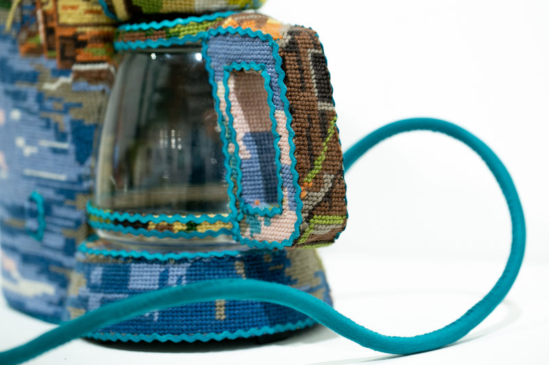 Turquoise Coffee Brewer