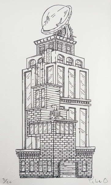 Prometheus Tower - Unframed