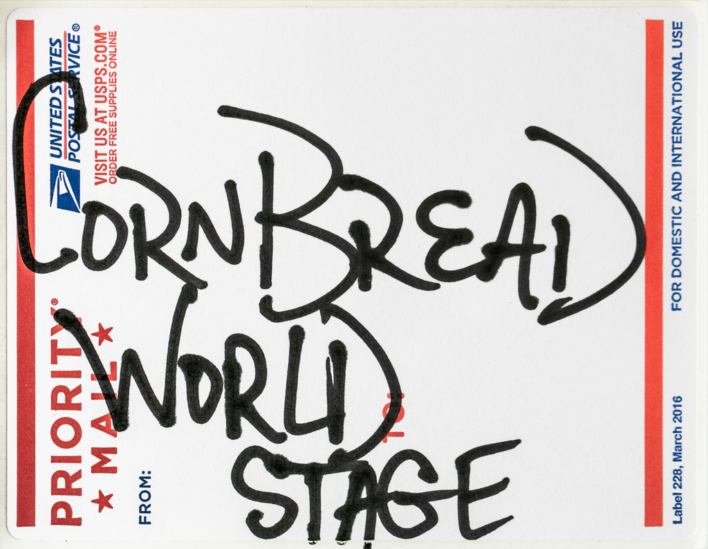 Postal Label Series: World Stage