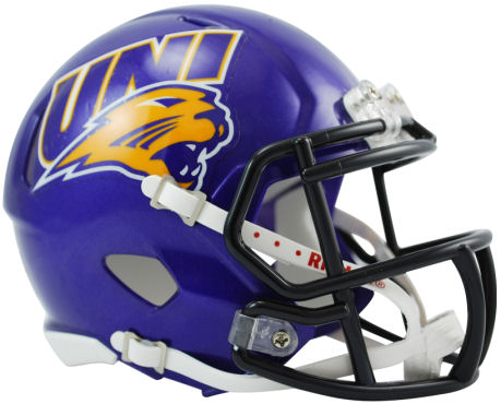 Northern Iowa Speed Mini Helmet
