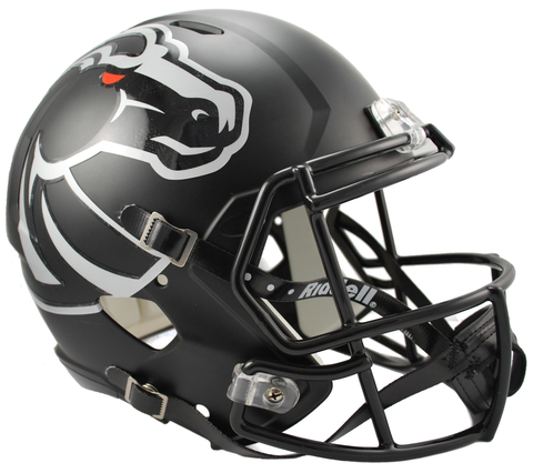 Boise State Black Speed Replica Helmet