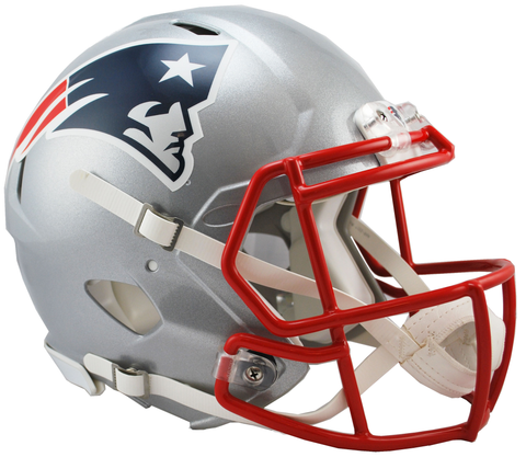 New England Patriots Revolution Speed Authentic Helmet