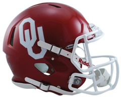 Oklahoma Revolution Speed Authentic Helmet