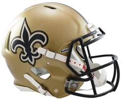 New Orleans Saints Revolution Speed Authentic Helmet