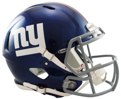 New York Giants Revolution Speed Authentic Helmet
