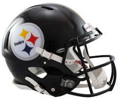 Pittsburgh Steelers Revolution Speed Authentic Helmet