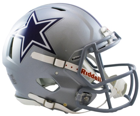 Dallas Cowboys Revolution Speed Authentic Helmet