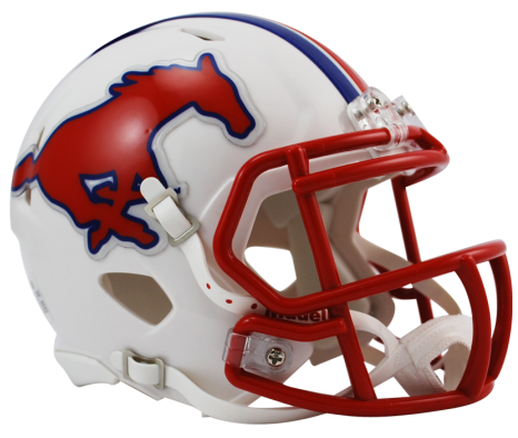 Southern Methodist (SMU) Speed Mini Helmet