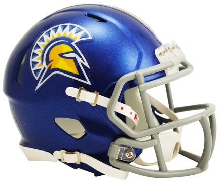 San Jose State Speed Mini Helmet