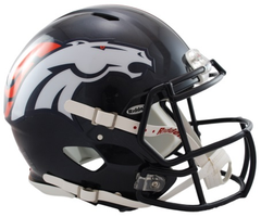 Denver Broncos Revolution Speed Authentic Helmet HOT