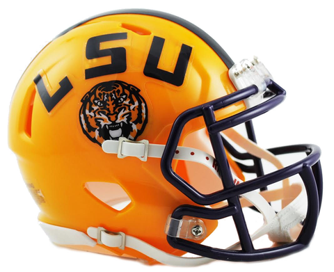 Louisiana State (LSU) Speed Mini Helmet HOT