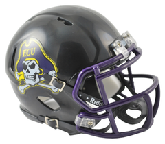 East Carolina (Black) Speed Mini Helmet
