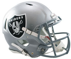 Oakland Raiders Revolution Speed Authentic Helmet