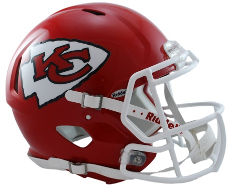 Kansas City Chiefs Revolution Speed Authentic Helmet