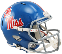 Mississippi Powder Powder Blue Speed Replica Helmet