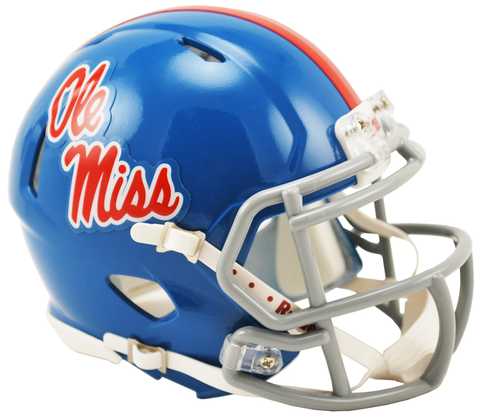 Mississippi (Powder Blue) Speed Mini Helmet
