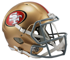 San Francisco 49ers Speed Replica Helmet