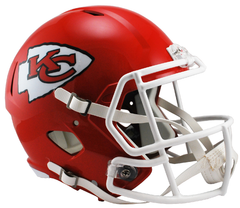 Kansas City Chiefs Speed Replica Helmet