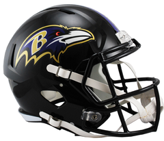 Baltimore Ravens Speed Replica Helmet HOT